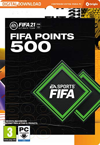FIFA 21 Ultimate Team 500 FIFA Points | Código Origin para PC