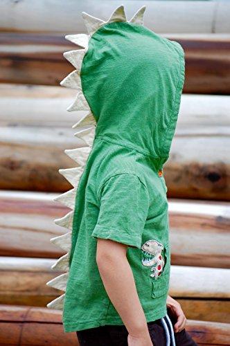 T-Rex Dino Toddler Hoodie Tops for Unisex, Boys, Girls 1-8 Years
