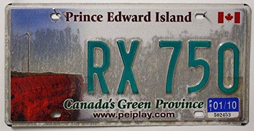 PRINCE EDWARD ISLAND Nummernschild KANADA Kennzeichen # Blechschild aus Nordamerika # Canada License Plate