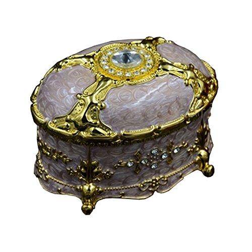 Luxueux boîte ?bijoux de stockage Belle boîte ?bijoux frame Aureate