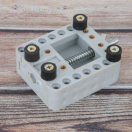 Herramientas de reparación de soporte de caja de reloj de metal para relojes, para fabricantes de relojes, para trabajadores de reparación de relojes