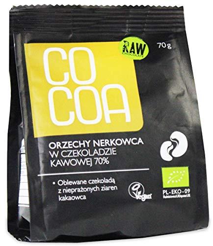 COCOA オーガニックローチョコレート・カシューナッツスナックパック 70g