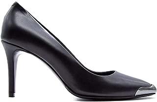ALBANO Luxury Fashion Womens 1045VITNERO Black Pumps | Fall Winter 19