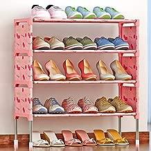 ELECTROPRIME Simple Multi-Layer Shoe Rack Assembly Dust-Proof Cabinet Modern Economic Storage