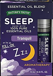 Nature's Truth Sleep Essential Oil Roll-on Blend, 0.34 Fluid Ounce