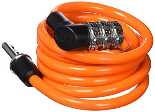 ABUS Spiralkabelschloss 1150/120 - Zahlenschloss mit Basisschutz - für Kinder - ABUS-Sicherheitslevel 1 - 120 cm - Zufallsfarbe