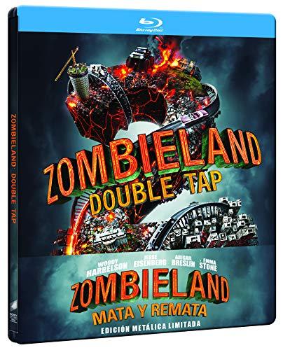 Zombieland 2: Mata y remata - Edición especial metal (BD + DVD) [Blu-ray]