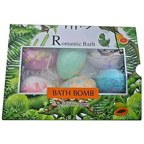 Bola de Sal de baño explosiva de Huevo de Dinosaurio para niños Bola de baño de jabón Rico