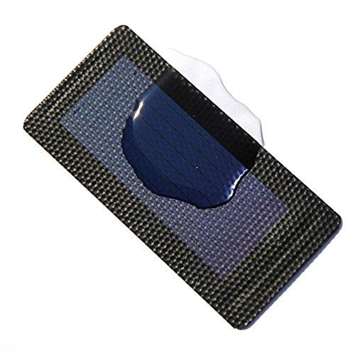 Semoic 0.3W 1.5V Celulas solares flexibles de silicio amorfo Plegable muy delgado Sistema de cargador de panel solar DIY Educacion 1pcs