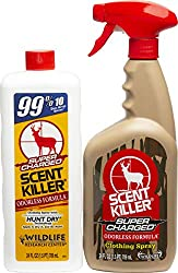 Scent Killer 559 Wildlife Research Super Charged Spray 24/24 Combo