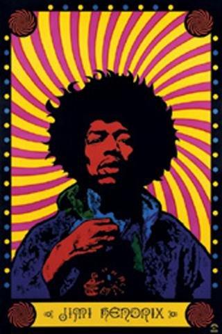 1art1 32087 Jimi Hendrix - Psychedelic Poster (91 x 61 cm)