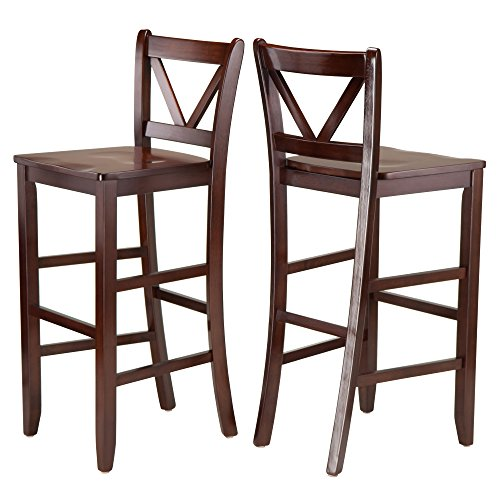 Winsome Victor Stools, 29', Brown