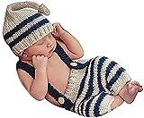 Matissa Häkelkostüm für Neugeborene, für Mädchen und Jungen, 4 Stück