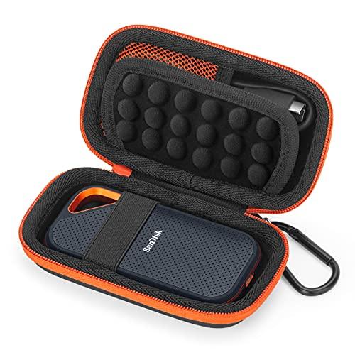 TascheHüllefür SanDisk Extreme PRO Portable SSD Externe Festplatte, Hart Reise Tragen Tasche