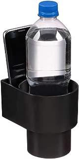 STAND-Bi Cup Holder Insert–Holds Phone,Drink-Black