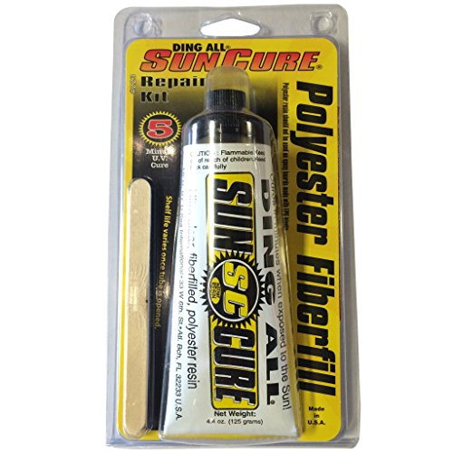Sun Cure Polyester Fiberglass Repair Kit by Ding All