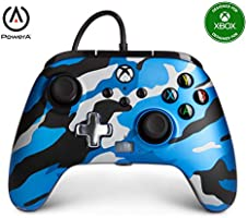 APower Enhanced Wired Controller For Xbox One - Metallic Blue Camo