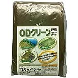 ユタカ #3000ODグリーンシート 5.4mx5.4m OGS13