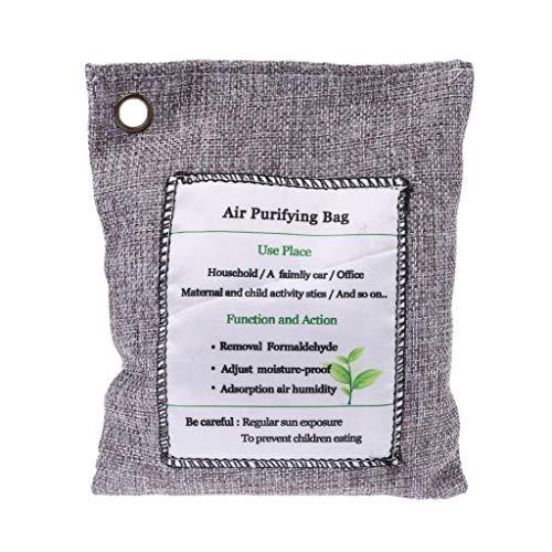200 g Bambuskohle-Lufterfrischer, Luftreiniger, Aktivkohle, Schuhe, Deodorant Absorber Tasche