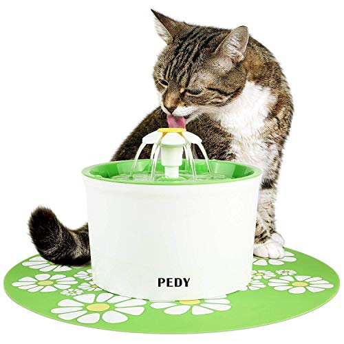 Fontaine à Fleur pour Chat Automatic Electric Flower 1.6 L...