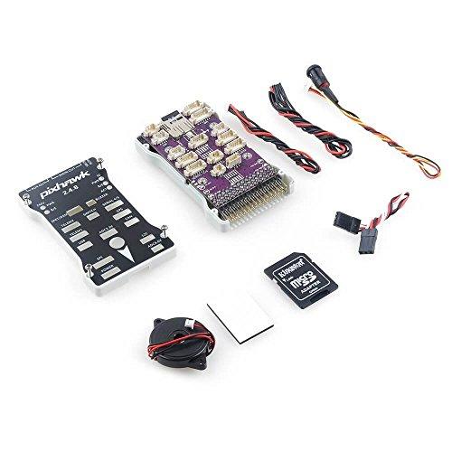 Pixhawk PX4 2.4.8 Controlador de vuelo Flight Controller ARM de 32 bits integrado PX4FMU PX4IO con tarjeta micro SD para FPV Racing Droen Quadcopter by LITEBEE