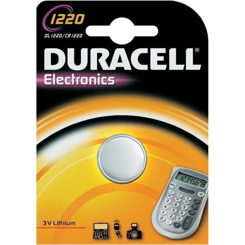 Duracell Knopfzelle CR1220 Lithium 3V