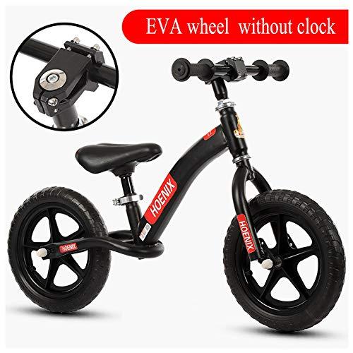 Shuhong Loopfiets voor kinderen, lichtgewicht, uitgerust met Eva-wiel, verstelbare zithoogte 2-6 jaar
