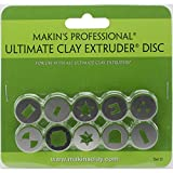 Makin's USA in Acciaio Inox Professionale Ultimate-Estrusore Argilla Dischi di D, 10 kg