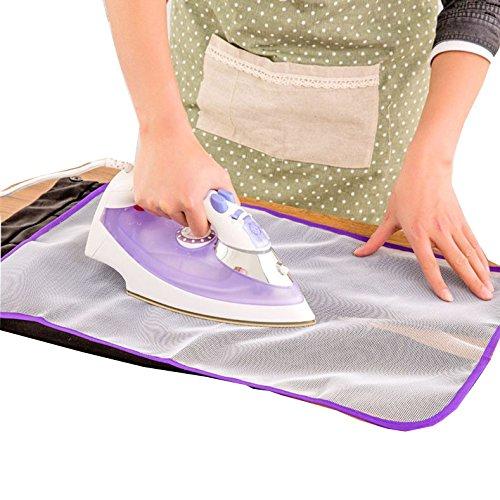SIRIGOGO - Funda Protectora para Tabla de Planchar, Almohadilla de Planchar, Malla Protectora para Planchar, paño de Planchar, Protege la Ropa, Prendas delicadas, Prendas delicadas