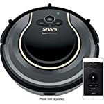 Shark RV750_N ION Robot Vacuum Cleaner Wi-Fi Automatic (Renewed) 4 Works with Alexa for voice control (Alexa device sold separately). Self-cleaning Brush roll captures short and long hair, dust, dander, and allergens to prevent everyday buildup in your home Smart sensor navigation seamlessly navigates floors and carpets while proximity sensors assess and adapt to surrounding obstacles