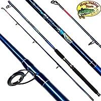 Mega Fishing Pilk 220 - Caña de Pescar para Barcos (2,20 m, 100-200 g)
