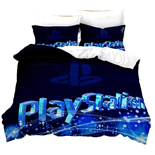 XLNB Playstation Bettwäsche 3D-Digitaldruck Bettbezug Allgemein 100% Mikrofaser Für Single/Double Bed Bed,C,200 * 230cm