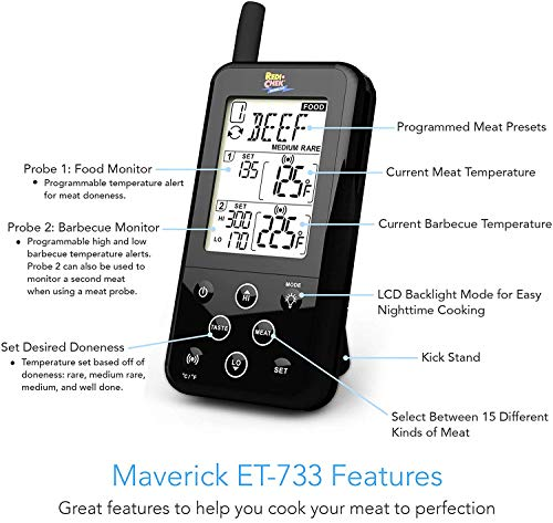 Maverick ET-733 Long Range Wireless Dual...