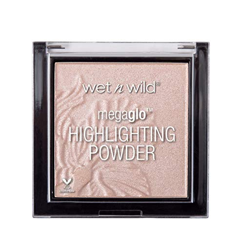 Wet N Wild Highlighter – MegaGlo Highlighting Powder mit hochpigmentierter Formel, Blossom Glow, 1 Stück, 5,4g