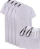 Utopia Care 6 Pack Cotton Blend Unisex Hospital Gown, Back Tie, 45' Long & 61' Wide, Patient Gowns Comfortably Fits Sizes up to 2XL