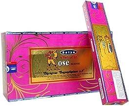 Satya Natural Series - Rose - 180 Gram Bulk Box - Premium Incense Sticks
