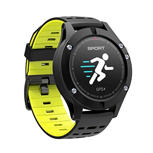 DIGGRO DB-05 Smart Deporte Pulsera 0.95 Pulgadas OLED GPS Incorporado en el Modo Multi-Sport del Monitor de Ritmo cardíaco (Verde)