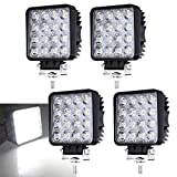 4 X 48W LED Offroad Scheinwerfer Weiß 12V 24V...