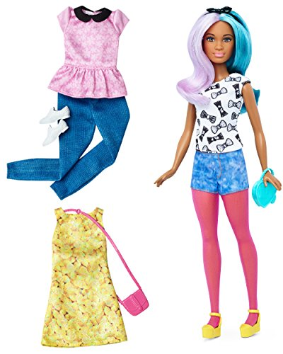 Barbie Fashionista, muñeca peinado multicolor con 2