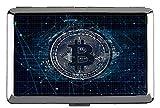 Sostenedor de la Caja de Cigarrillos, Dollar Bitcoin Capital Clip Open Pocket Holder para 14 Cigarrillos