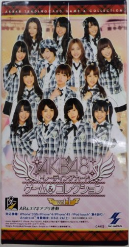 AKB48 Trading Card Game & Collection vol.1 Booster (15packs)