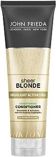 John Frieda Sheer Blonde Enhancing Conditioner (for Darker Blondes), 8.45 Ounces (Pack of 2)