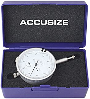 Accusize Industrial Tools Agd2 Style 0-0.05'' by 0.0001'' Dial Indicator with Lug Back, P900-S097