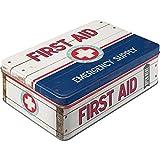 Diseño de Primeros Auxilios para Tarro de Caja metálica de Primeros Auxilios para Caja de Metal Plana