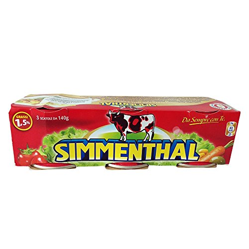 SIMMENTHAL Rindfleisch in Aspik (3x140g Dose)