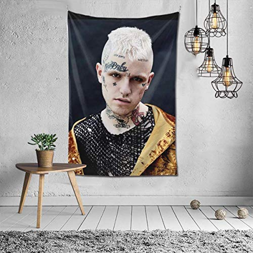 FPDecor Lil Peep Love Tapestry Wall Hanging Tapestries Wall Blanket Wall Art for Living Room Bedroom Home Decor 40'x60'