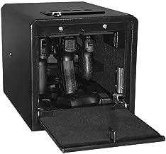 Stealth Handgun Hanger Safe Quick Access Pistol Security Box