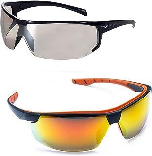 Kit 2 Óculos Ciclismo Esportivo Feminino Masculino Espelhado