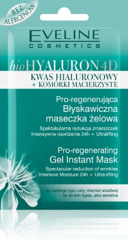 Eveline Cosmetics BioHyaluron 4D Pro-Regenerating Instant Gel Mask for all skin types by Eveline Cosmetics