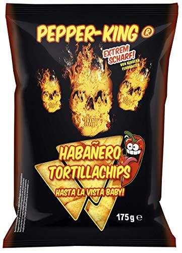 XOX Gebäck Pepper-King Habanero Tortillachips, 175 g